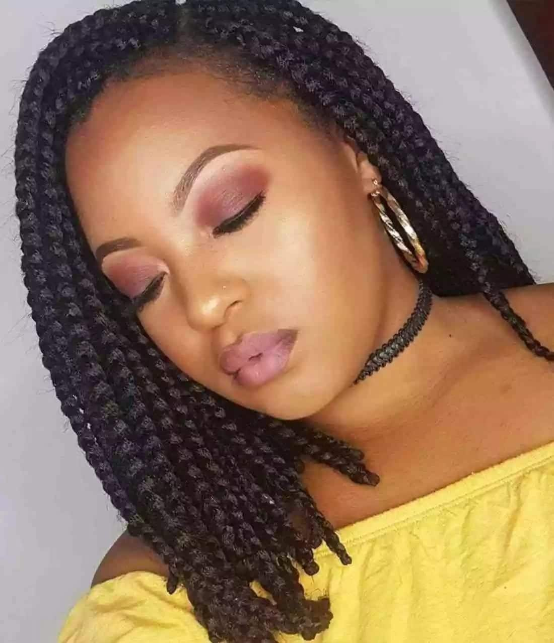 African Hairstyles For Round Faces For Ladies Tukocoke