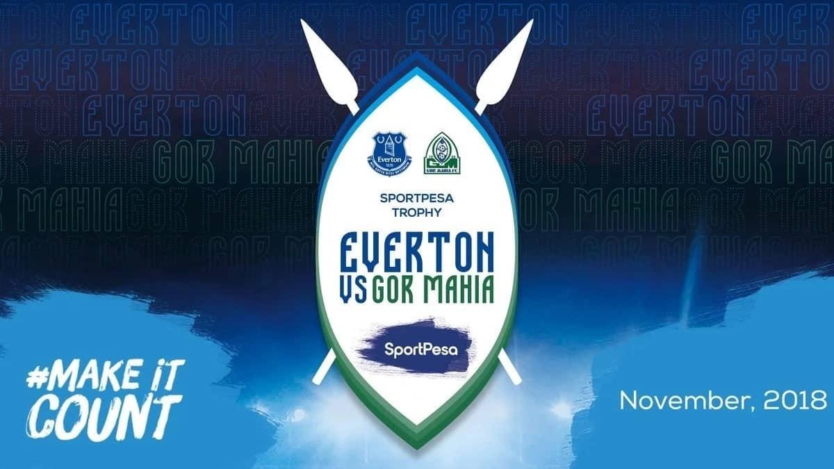 Gor Mahia vs Everton Super Cup clash set for November
