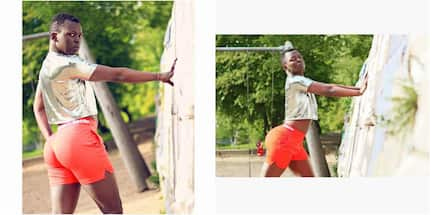 This Kenyan man, dressed in women clothes is taking over the internet (photos)