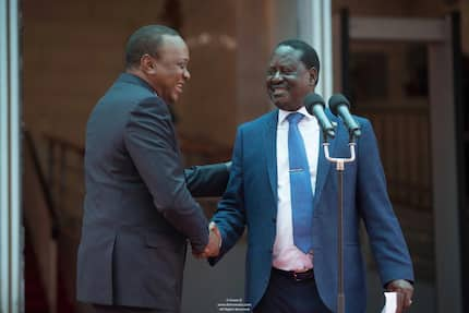 NASA finally recognises Uhuru's presidency, suspends People's Assembly process after Uhuru-Raila deal