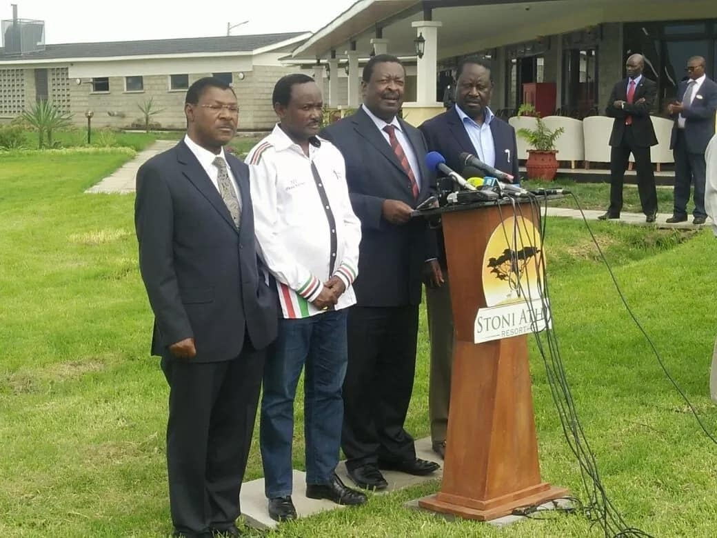 Wetangula, Mudavadi, Kalonzo are squatters in NASA - Aden Duale