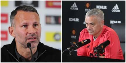 Mkongwe wa soka Man United Ryan Giggs amtetea Jose Mourinho
