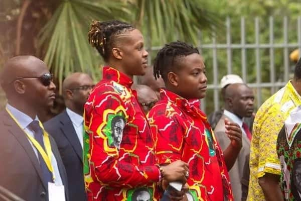 Mugabe's sons were on a partying spree as their embattled dad negotiated his future in Harare