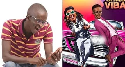 Witty Comedian Njugush ventures into music, features in Fena Gitu's latest hit song