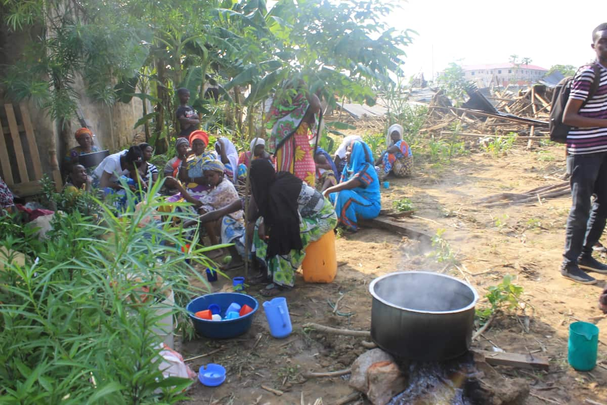 Hundreds spend Easter holiday in cold after eviction by Mombasa billionaire