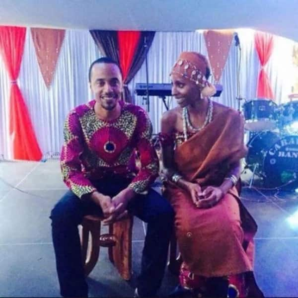 President Uhuru Kenyatta's daughter-in-law heavily expectant