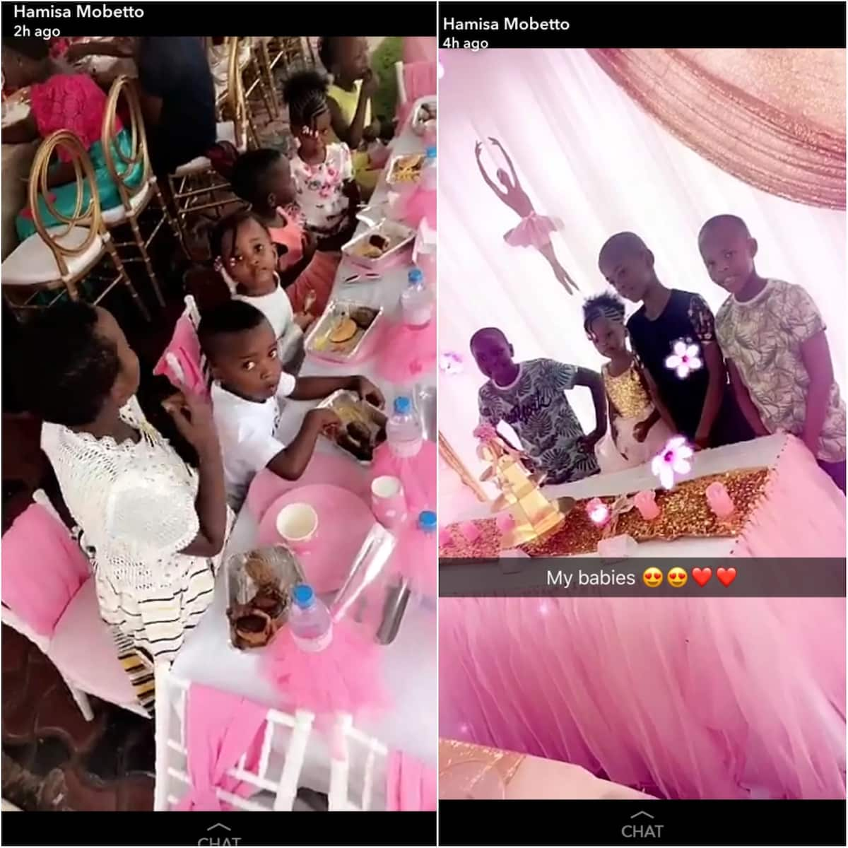 Diamond Platnumz's mpango wa kando throws lavish princess party to celebrate daughter's birthday