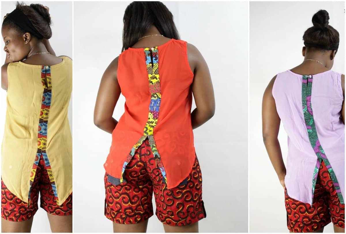 Latest chiffon tops designs Chiffon tops in Kenya Chiffon tops for ladies