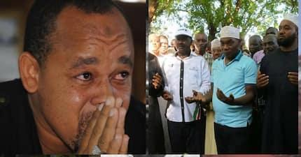 """Video yaonyesha jinsi Raila """"alivyochochea"""" mbunge kufurushwa kutoka mazishi ya Seneta Boy"""