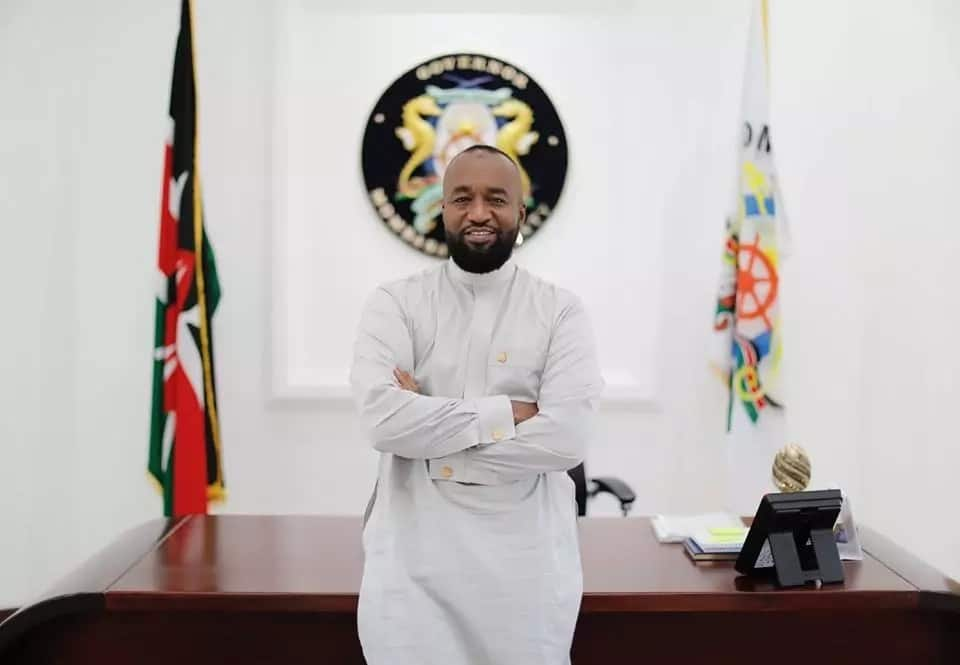 Mombasa County Governor Ali Hassan Joho in his office