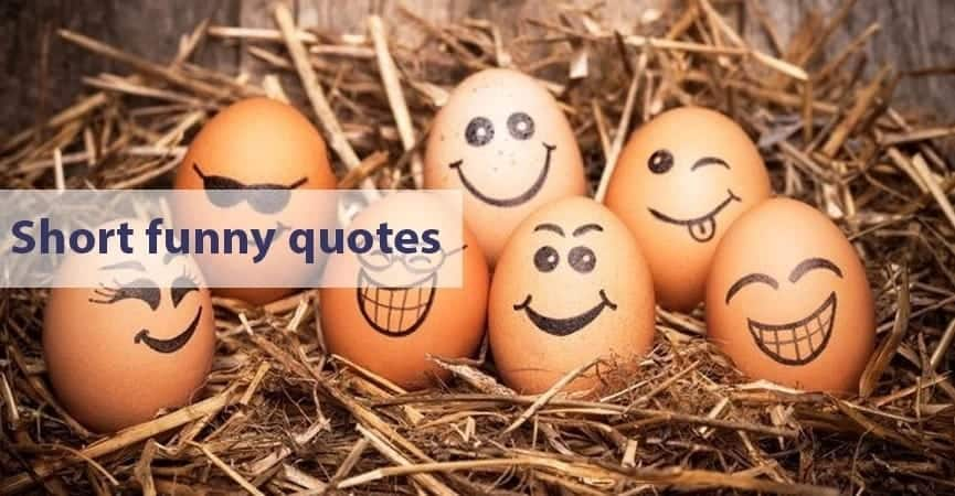 Hilarious short quotes Short funny sassy quotes easy to remember quotes