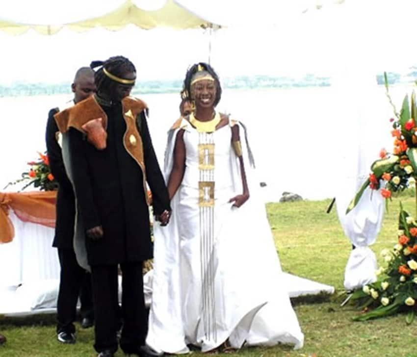 wahu and nameless wedding photos