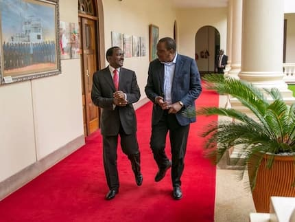Kalonzo Musyoka reveals agenda of his closed-door meeting with Uhuru Kenyatta