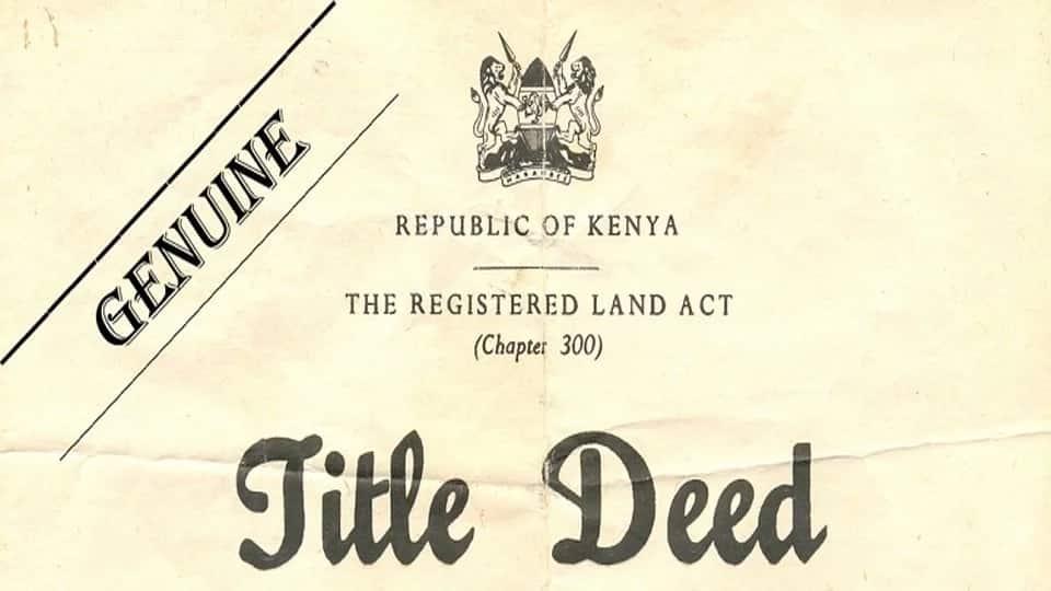 Process of Buying land in Kenya