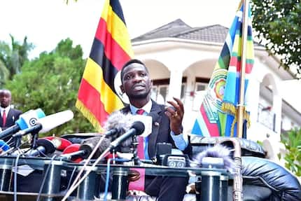 Ugandan Opposition MP Bobi Wine reveals plan to remove Museveni from power