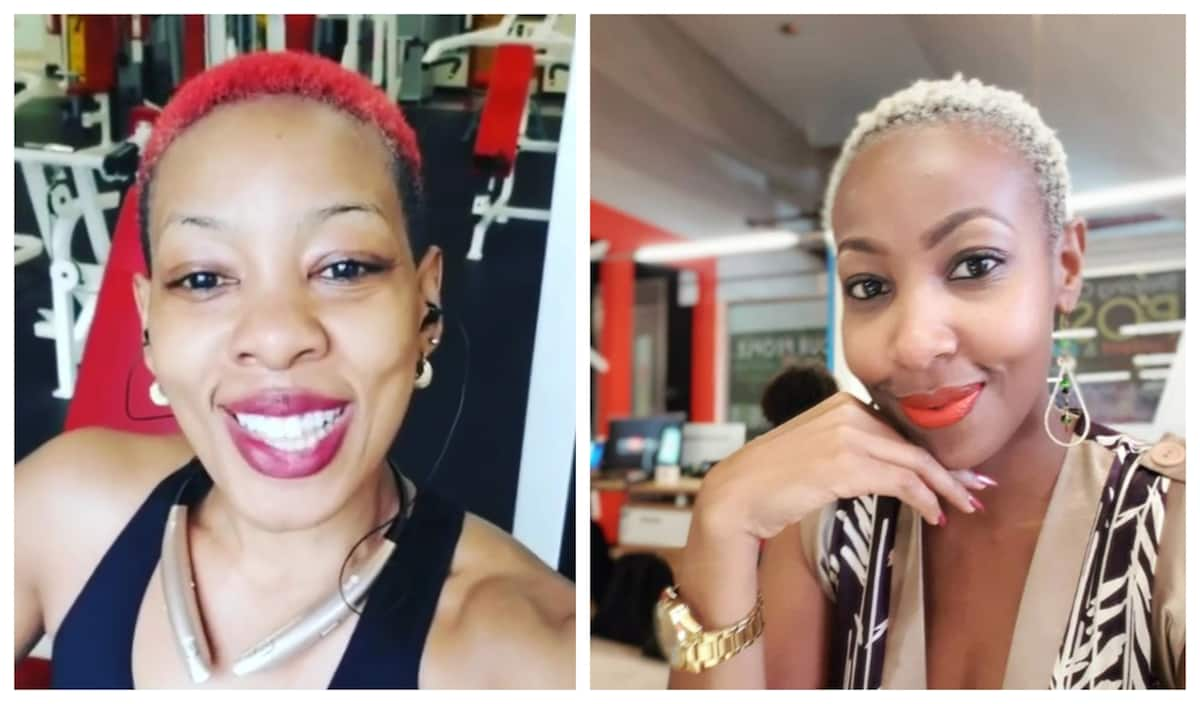 17 extremely identical photos of radio girl Mwalimu Rachel and fitness queen Jane Mukami which prove they are sisters