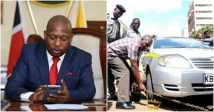Mike Sonko orders City Hall to implement new KSh 200 parking fee for Nairobi motorists