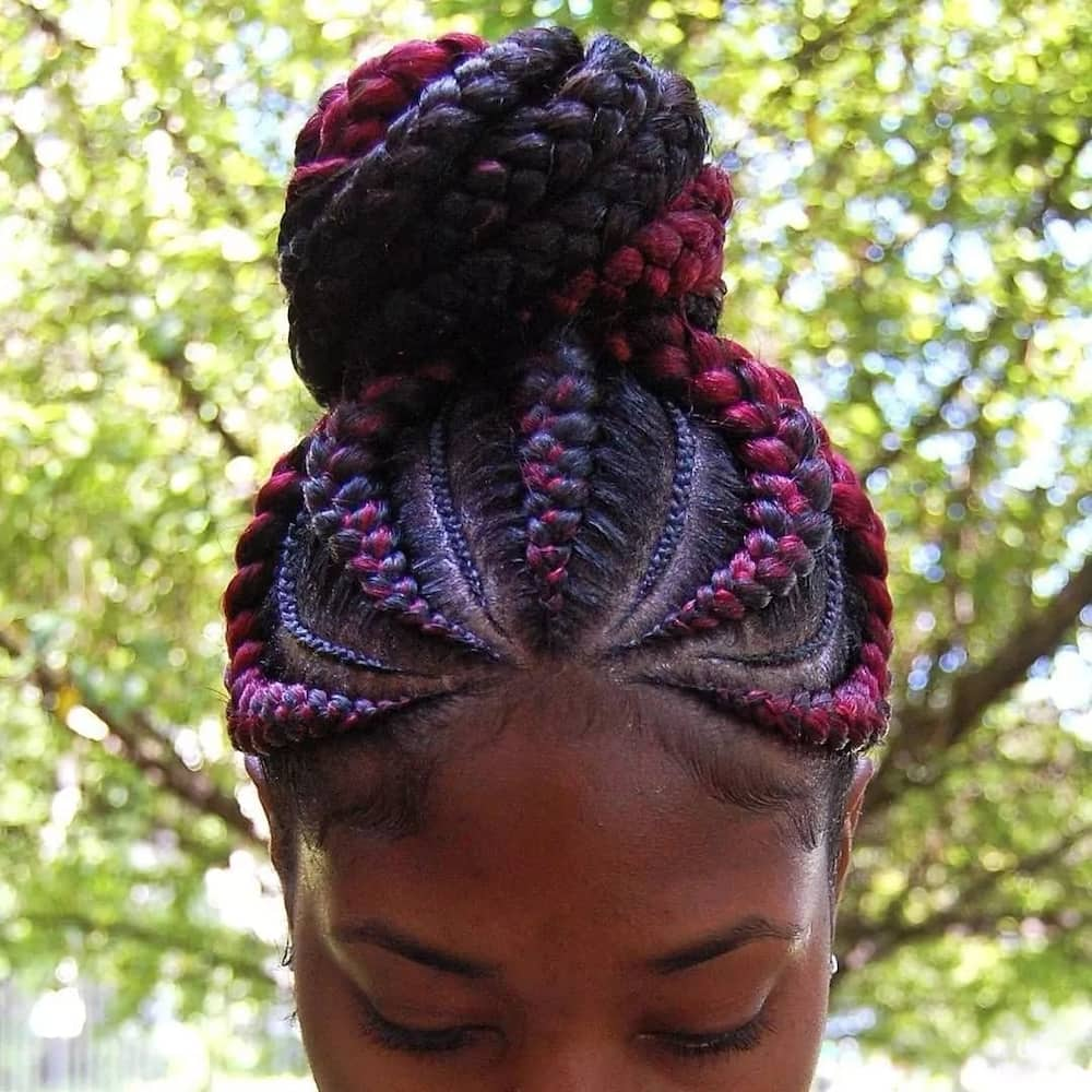 what are Ghana braids