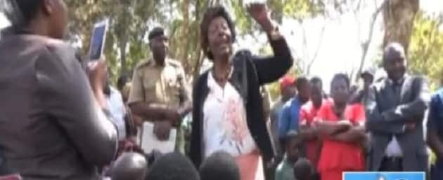 Chaos as Kitui residents threaten to torch police station after officer stole someone's wife