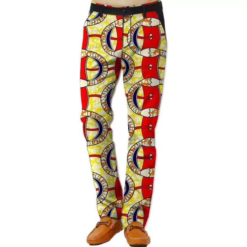 Latest Ankara pants styles