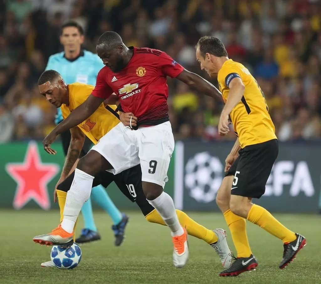 Red-hot Manchester United thrash Young Boys x-0 in Champions League opener