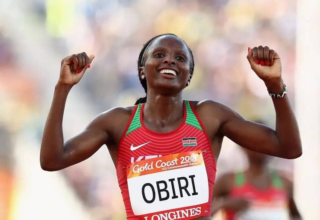 Hellen Obiri confidently wins 5,000m, bags first gold for Kenya at African Athletics Championships