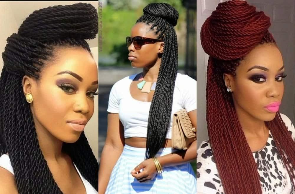 Best African Hairstyles Weave 2018 Tuko Co Ke