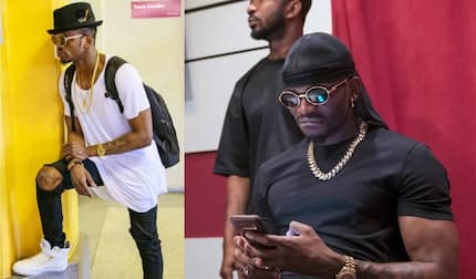 Tanzanian singer Diamond Platnumz robbed off expensive chains by rowdy fans in the streets