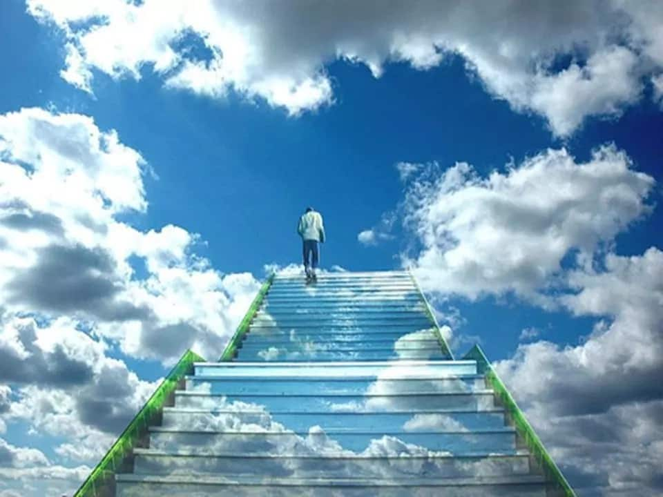Controversial self-styled prophet photoshops himself in heaven