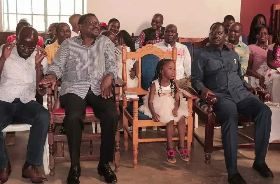 Youths try to swear in Raila in Budalangi