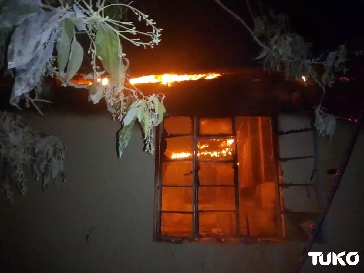 Mysterious fire razes Kamusinga Boys' dormitory as student unrest raises alarm
