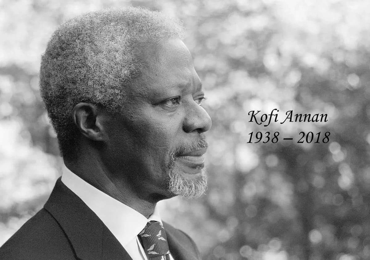 Mambo 10 usiyoyajua kumhusu marehemu Kofi Annan