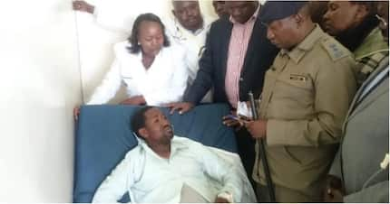 Emotions run high as Silale Ward MCA who was abducted returns home alive