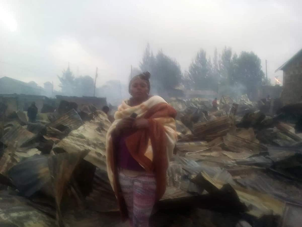 Night of horror as a huge fire burns down homes to 10,000 Kenyans in Nairobi