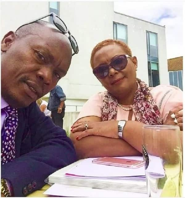 Governor Kabogo steps out with his beautiful wife, shows his romantic side