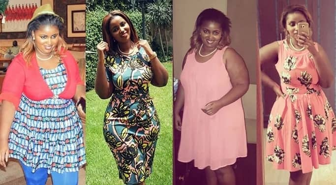 After successful weight loss, Kenyan billionaire's daughter shows off her new look curves in song and dance