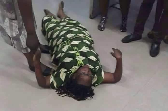 Mwanaharakati Stella Nyanzi azimia Kampala akilalamika kuhusu ushuru wa mtandao wa kijamii