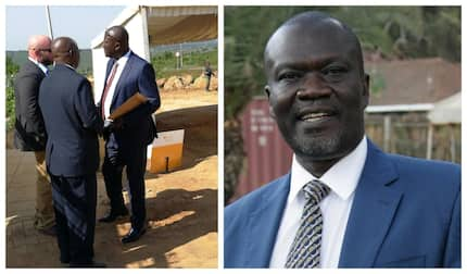 Mild standoff in Siaya as governor Rasanga declines to be searched during Obama's visit
