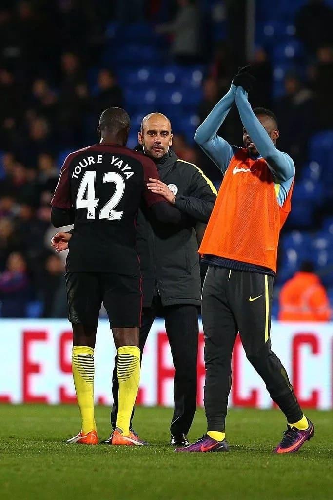 Aliyekuwa mchezaji wa Arsenali, Eboue amshambulia Guardiola kwa kumdhalilisha Toure