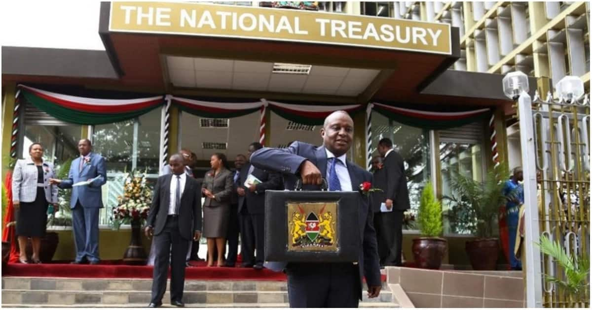 The Treasury boss Henry Rotich at the National Treasury building in Nairobi.