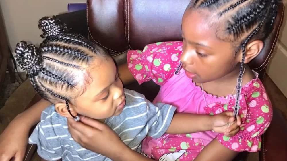 25 Cutest Kids Hairstyles For Girls Tuko Co Ke