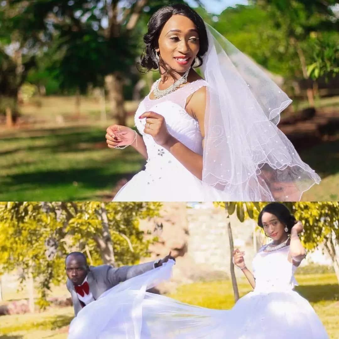 Gospel Dj Mo's last born sister weds MC in lavish wedding