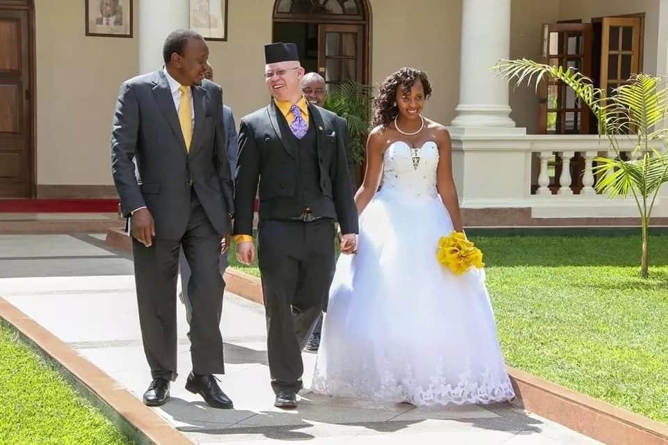 Isaac Mwaura son