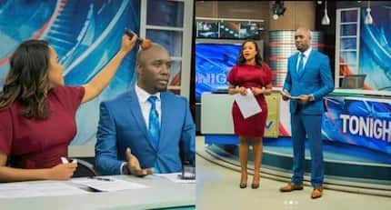 Fans demand Dennis Okari and co-host Olive Burrows date following their undeniable chemistry