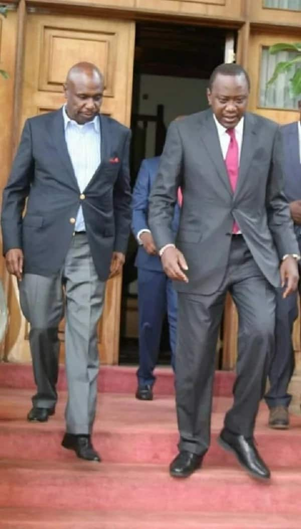 Look away DP Ruto! Mt. Kenya Jubilee governor promises to support Moi for president in 2022