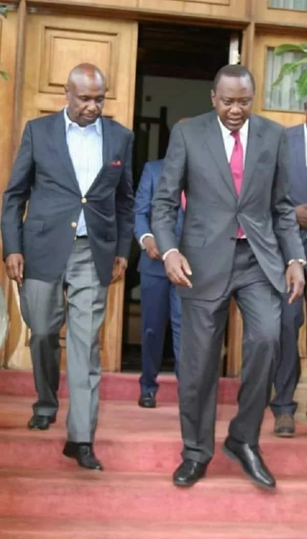 Uhuru Kenyatta akutana na Gideon Moi na kuwasha moto kwenye mitandao ya kijamii