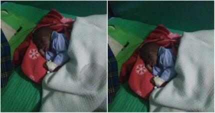 One-month-old baby found dumped in Ksimu sugarcane plantation