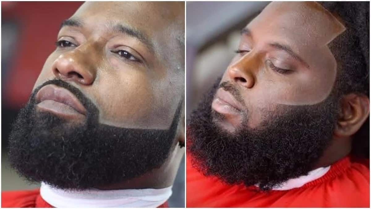 Trendy mustache and beard styles for men in Kenya