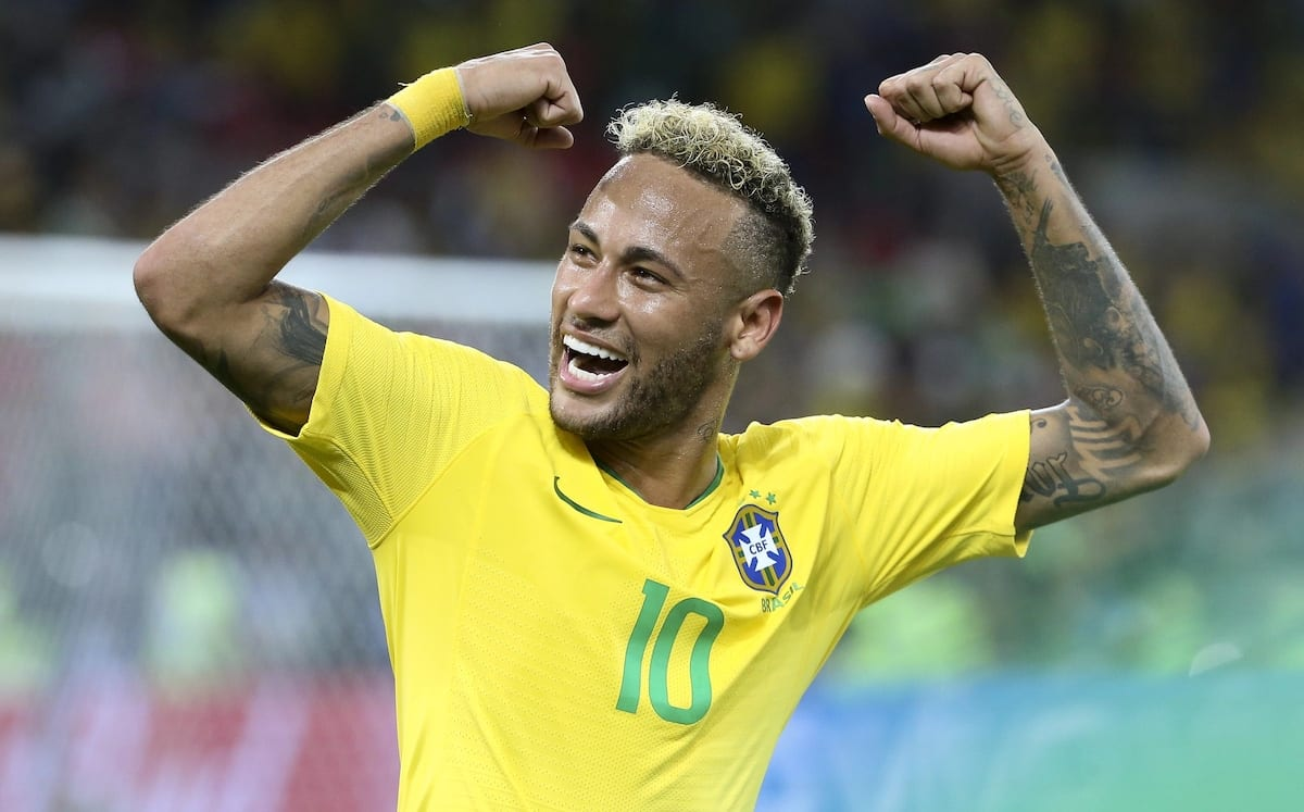 Diving Brazil forward Neymar has had more hairstyle changes than goals in 2018 World Cup