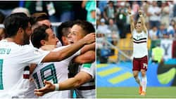 Mexico beat South Korea 2-1 to qualify for 2018 World Cup round of 16